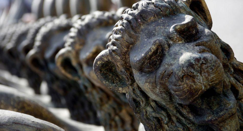 il leone simbolo del festival del cinema di venezia