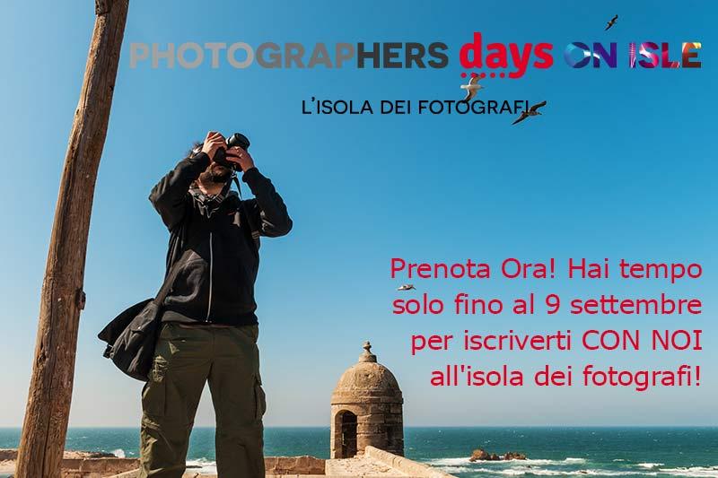 Isola dei Fotografi_Iscrizioni last minute