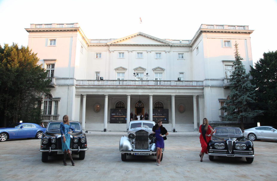 Royal White Palace in Belgrade, home of the 24 hours of Elegance
