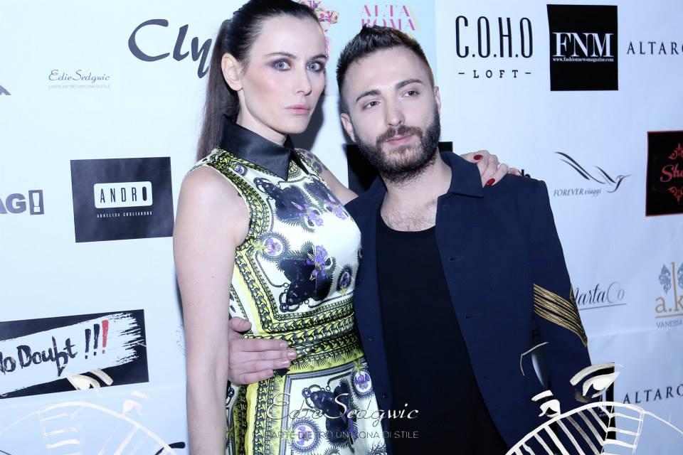 Iuliana Mihai e Marco Calisse