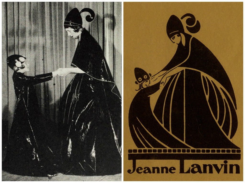 Jeanne-Lanvin-and-her-daughter-Marguerite-in-1907