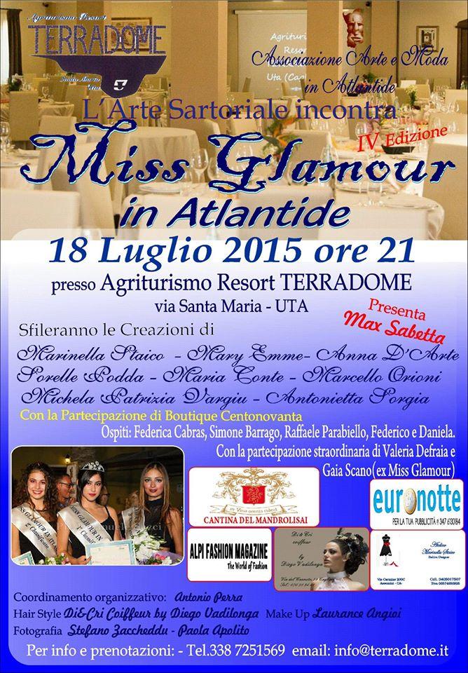 Miss Glamour in Atlantide 2014 (2)
