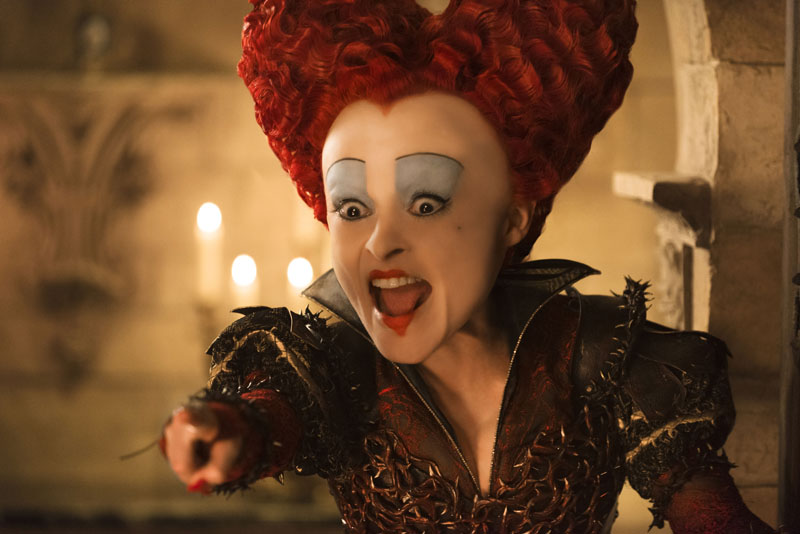 Iracebeth, the Red Queen (Helena Bonham Carter)