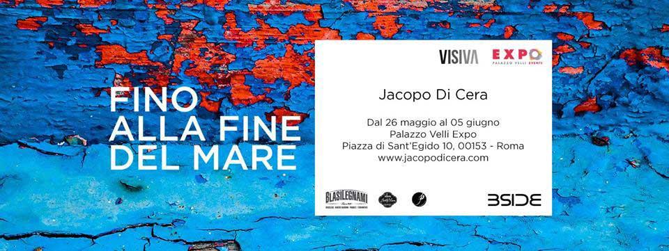 Locandina-Fino-alla-fine-del-mare,-Jacopo-Di-Cera,-Roma-2016