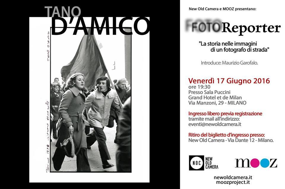 Conferenza FOTOReporter NOC - Tano D-Amico - 17 Giugno