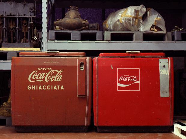 Frigoriferi Coca Cola Majestic anni 50,Museo della Scienza e della Tecnologia,Marco Lanza