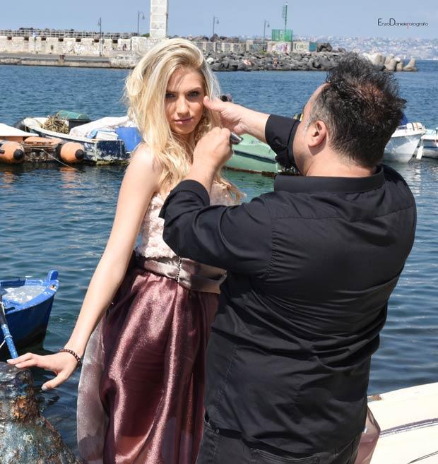 Vincenzo Fatteruso,modella Asia,hair stylist