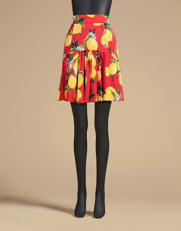 Dolce e Gabbana,minigonna,trend estate 2016