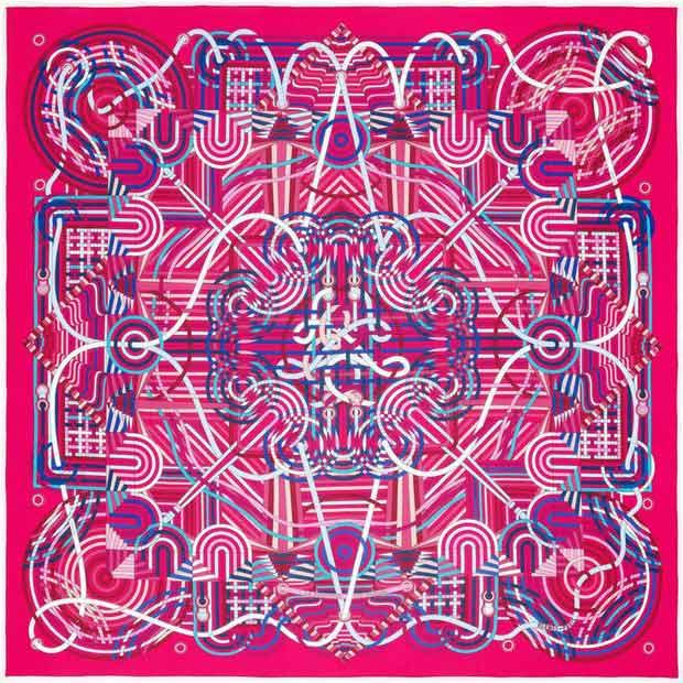 hermes,foulard