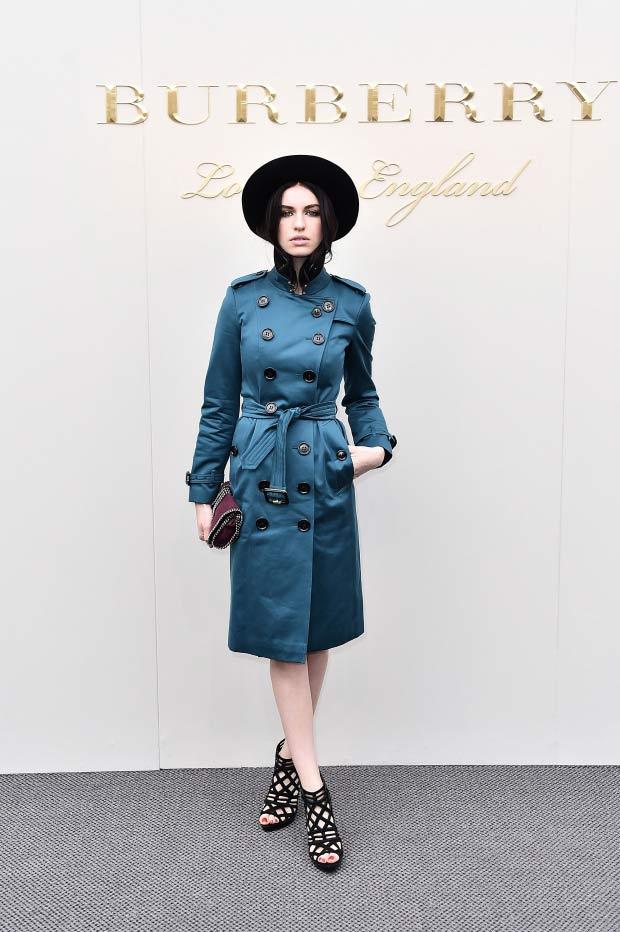 Burberry,london fashion week,burberry fashion week