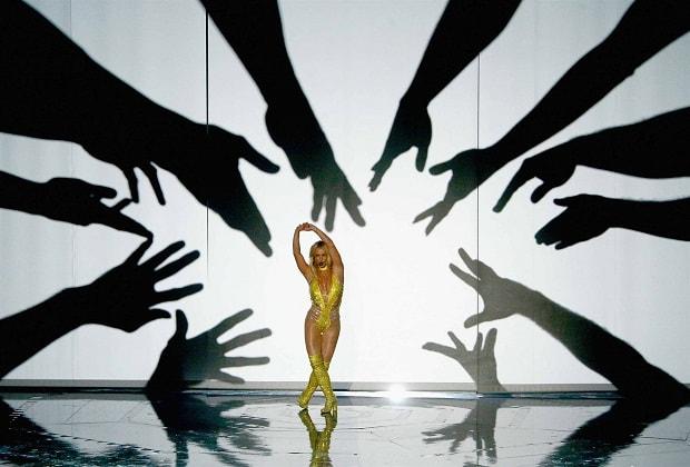 Esibizione Britney Spears