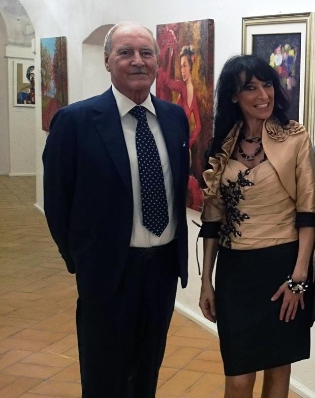 Ester Campese e Riccardo Bramante