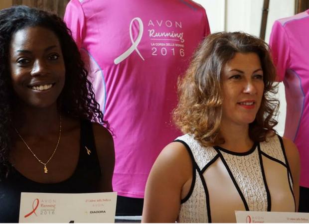 Presentazione-Avon-Running-Tour-2016-Milano-General-Manager-Avon-Italia-Oksana-Zharkova