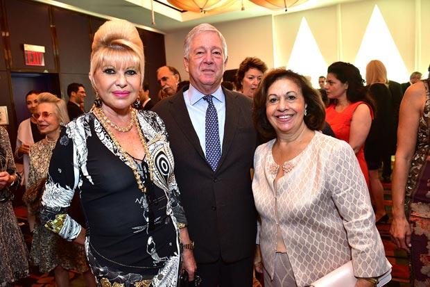Ivana Trump Crown Prince Alexander of Serbia Crown Princess Katherine