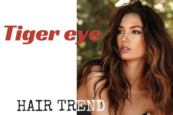 Tiger eye tendenza capelli 2017