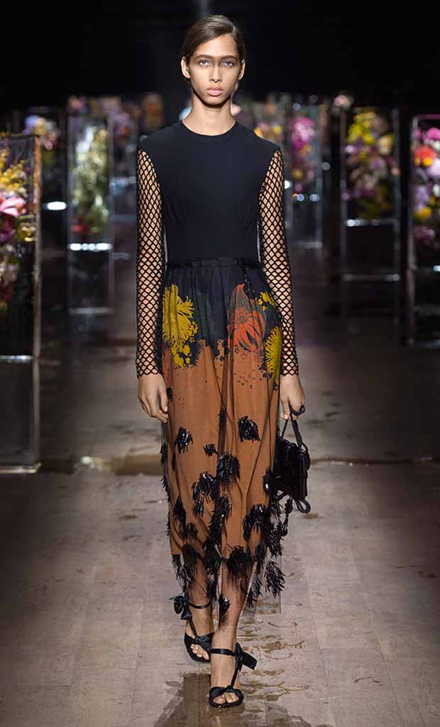 Dries Van Noten,primavera estate 2017,trend rete