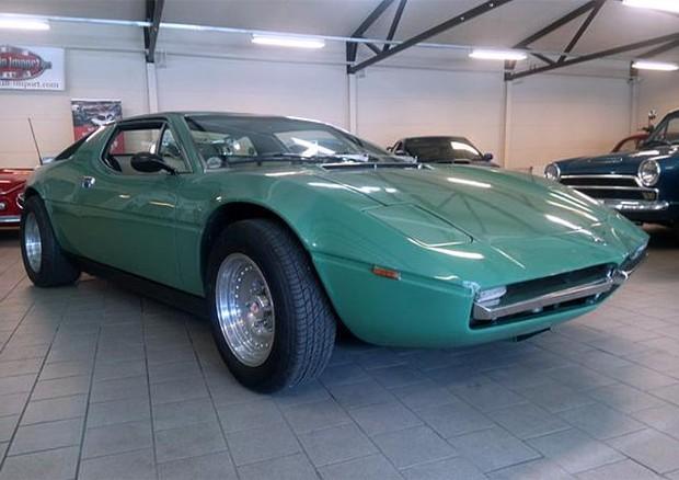 Maserati Merak 3000,Dodi Al-Fayed,maserati verde