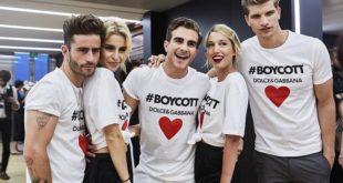 boycott,tshirt,dolce and gabbana