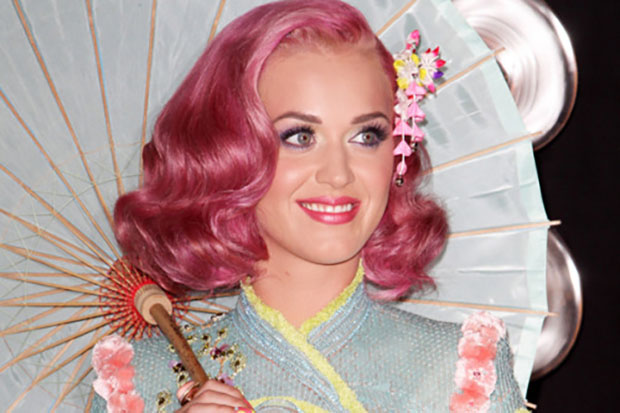 Katy Perry,capelli colorati