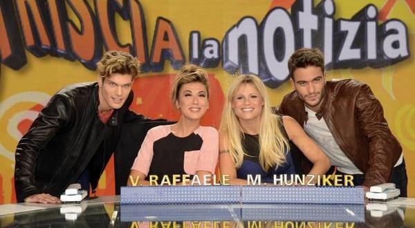 Sanremo. Michelle Hunziker in coppia con Claudio Baglioni