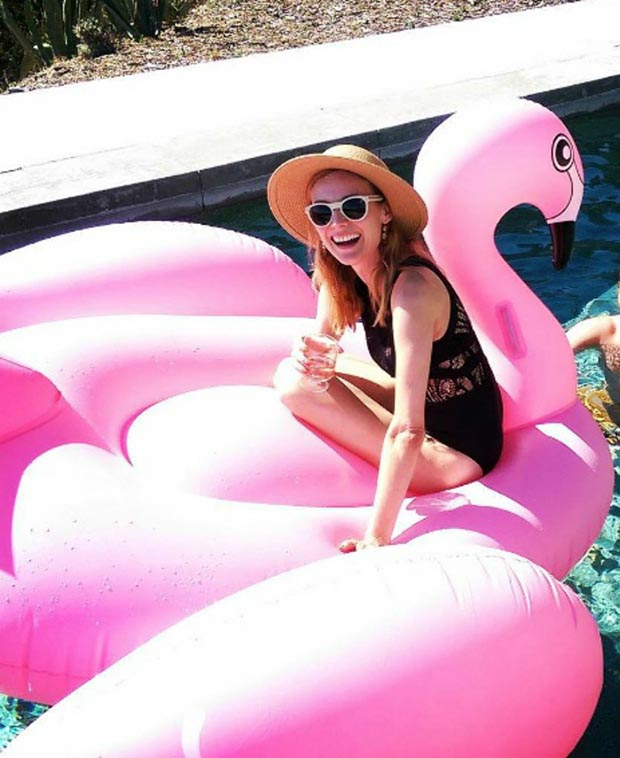 diane kruger flamingo,fenicottero rosa,trend estate