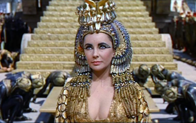 liz taylor,cleopatra,gioielli cleopatra,oro liz taylor