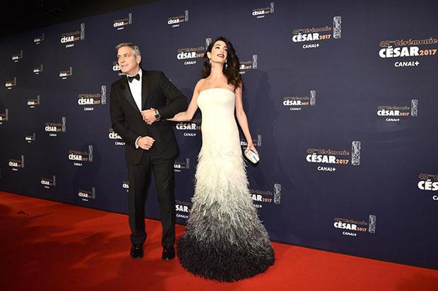 Amal Clooney,cinema venezia 2017