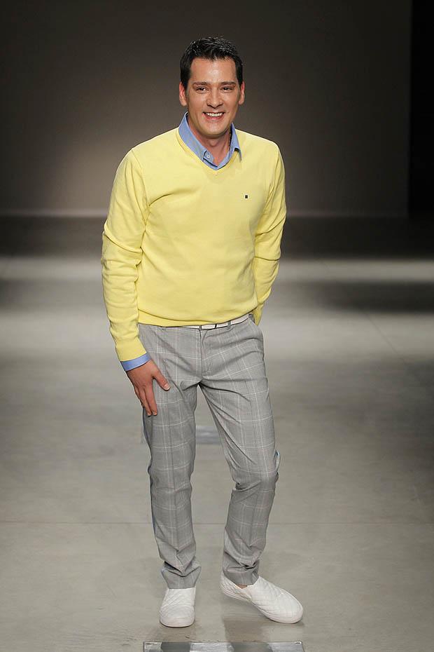 Carlos Gil,settimana della moda Milano,sfilata Carlos Gil