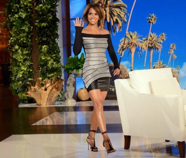 Halle Berry, attrice, scarpe, Anabelle, talk-show
