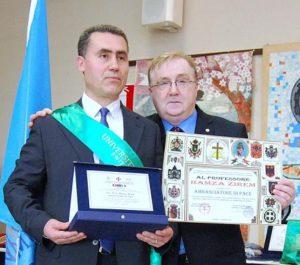 Hamza Zirem,Ambasciatore di Pace,università della pace,università svizzera