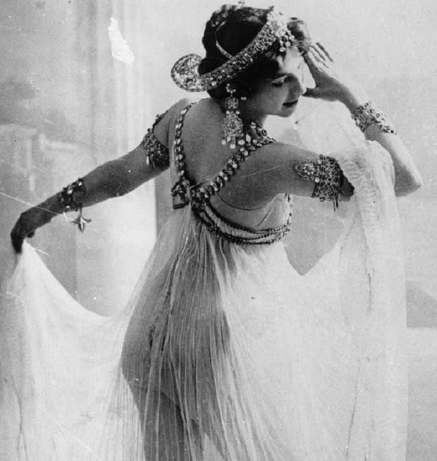 ballerina Mata Hari,spia Mata Hari