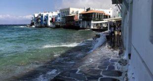 Mykonos,little Venice,Grecia