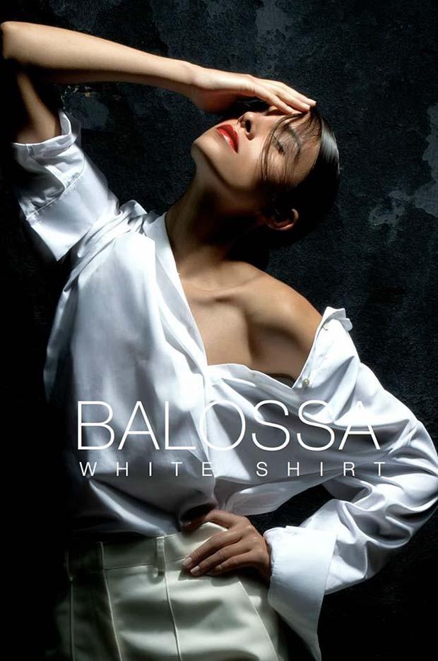 balossa white shirt