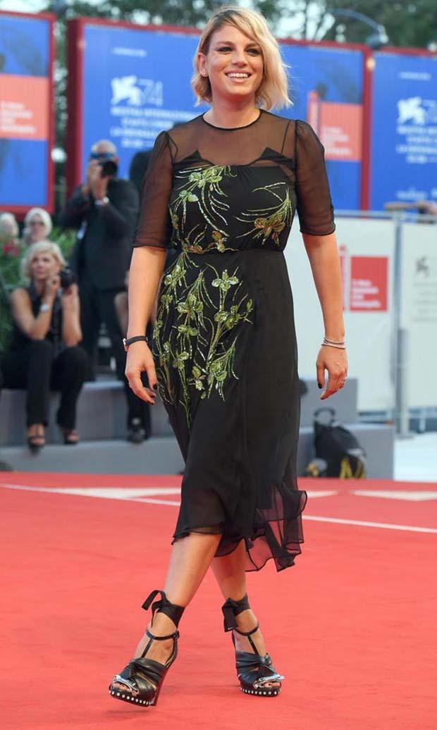 emma marrone,74 cinema di venezia