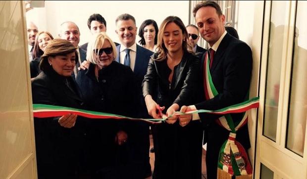 Casa delle Stelle,Ministro MAria Elena Boschi,Casa delle Stelle
