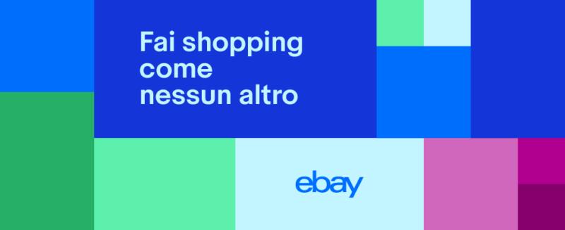 ebay,colora il tuo shopping,fare shopping,acquisti online,ecommerce,comprare online