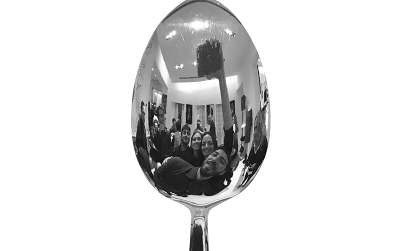 spoon selfie,cucchiaio,spoon photography
