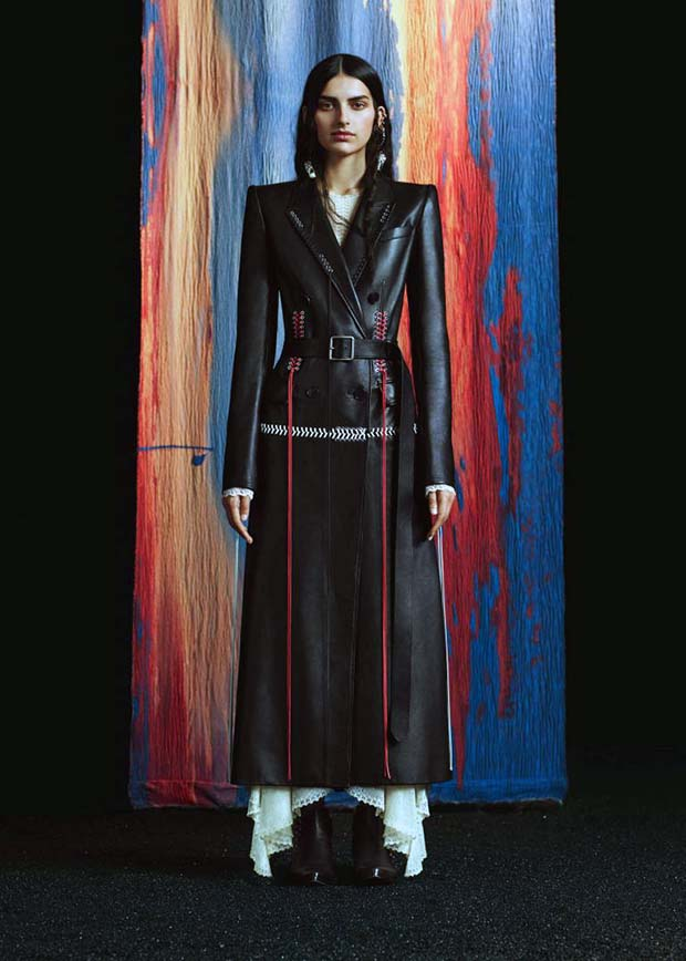 Alexander Mcqueen,cappotto