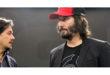 Keanu Reeves presenta gli ultimi modelli di moto all'EICMA di Milano