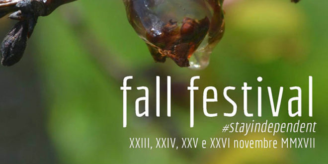 Fall Festival #stayindipendent, al via domani a Salerno