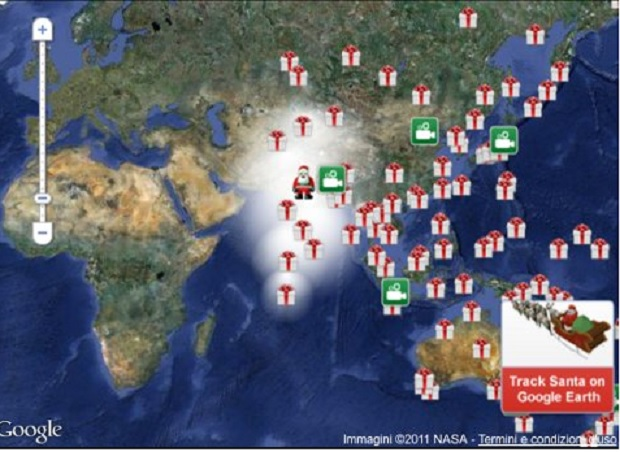 Percorso Babbo Natale.Cerchi Babbo Natale Con Google Basta Un App Con Giochi Per I Piu