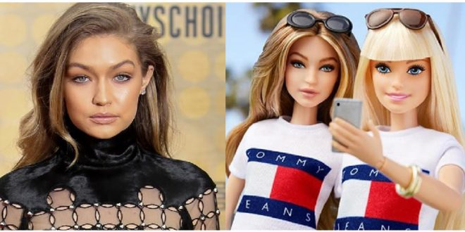 Gigi Hadid è diventata una barbie, la sua plastic version postata su Instagram