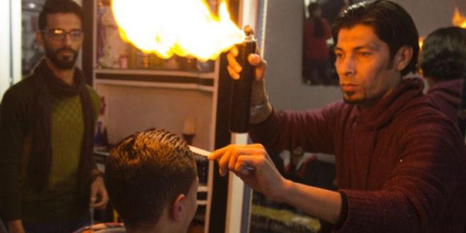 fire barbing