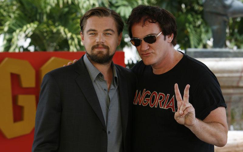 Leonardo DiCaprio,quentin tarantino