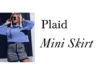 Plaid Mini Skirt: la minigonna che fa impazzire tutte!