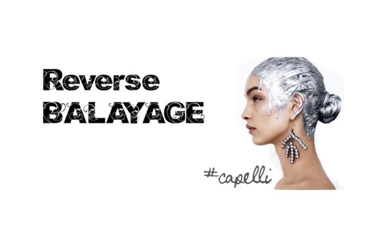 reverse balayage