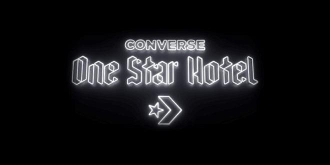 Converse, apre a Londra l'Hotel interamnete dedicato alla sneakers!