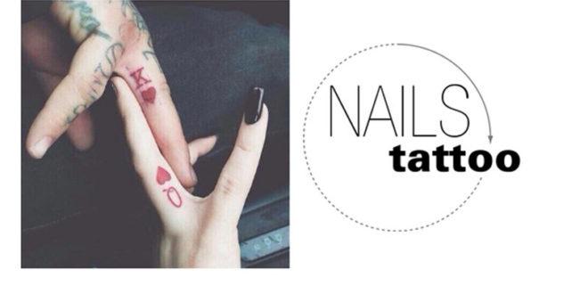 Non più sulla pelle, ora i tatuaggi si fanno anche sulle unghie; indolori e semipermanenti!!