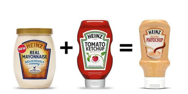 Mayonese e Ketchup insieme: Henz commercializza la MAYOCHUP!