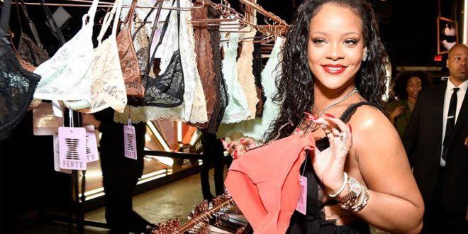 Rihanna, grande successo per il nuovo brand di lingerie della pop star